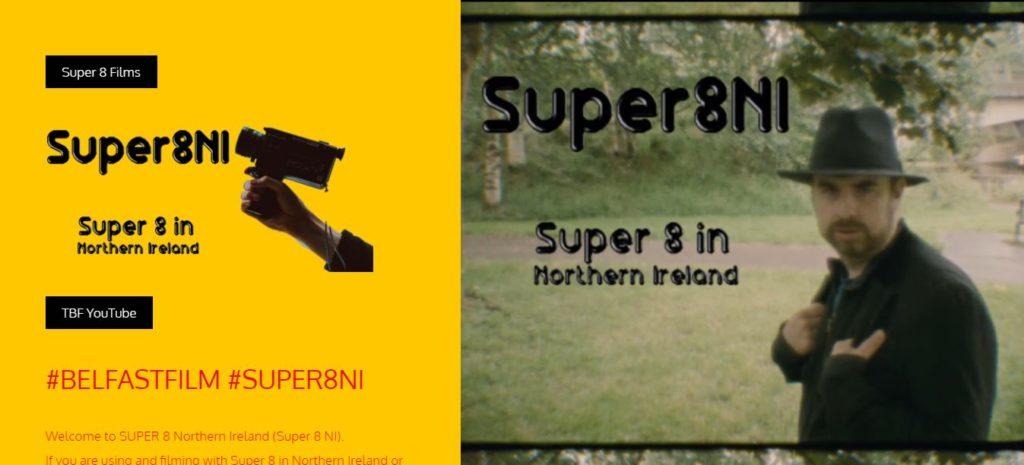 Super8NI Webpage